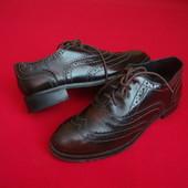 Туфли броги Zara 35 разм