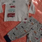 Домашние штанишки и футболка на 6-9 мес