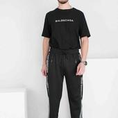 Мужские спортивные брюки три цвета. Размеры М-3XL. Цвет и размер на выбор.