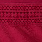 ☘ Топ з коротким рукавом з комбінованих матеріалів Tchibo (Німеччина), наш р .: 50-52 (44/46 євро)