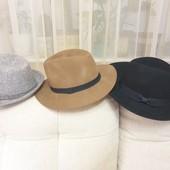 Шляпы тм Stradivarius и Mango из 100% шерсти,в идеальном состоянии, р. М, 56-57 см.+-,одна на выбор
