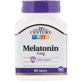 Мелатонин, 3 мг, 90 таблеток