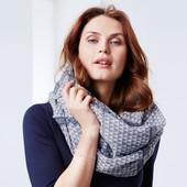 ☘ Красивий шаль-снуд для створення стильного образу від Tchibo (Німеччина), розмір універсальний