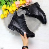Зимние ботинки. Натуральная кожа.