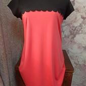 Новое.Платье из плотного трикотажа 16 размер.
