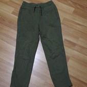 Теплі спортивні штани на 8-9 років