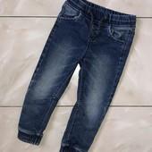 Стоп,для юного модника❤ Фирменные стильные джинсы-джоггеры для мальчика,2-3 года❤ Много лотов!