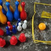 Набор для игры в боулинг в чемодане. Качество!!! США.