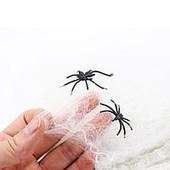 """Скоро Хеллоуин!лот 2 шт!!!"""" паутинка и два паучка."""""""