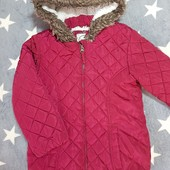Зимняя куртка, для девочки 6-7 лет, хорошее состояние!