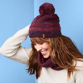 ☘Тепла шапка на флісовой підкладці від Tchibo (Німеччина), розмір універсальний