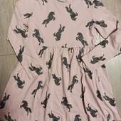 Платье трикотажное 9 лет.