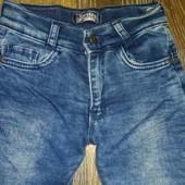 Стильные тёплые джинсы на девочку 3-4 лет