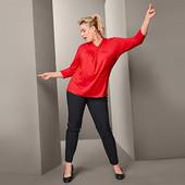 ☘ Моделюючі фігуру стрейч-брюки від Tchibo (Німеччина), розмір наш: 56-58 (50 євро)