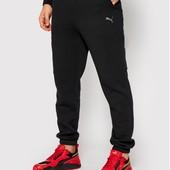 Фліс!Теплі чоловічі спортивні штани на манжеті трикотаж 3-ох нитка,Пума р.46-48-52