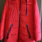 продам теплое зимнее пальто в отличном состоянии, р.44