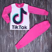 Пижама Тик ток девочке размеры 110-116