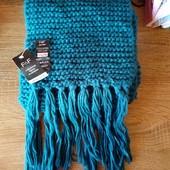 Красивый вязаный шарф F&F