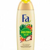 Крем-гель для душа Fa Amazonia Spirit ритмы Бразилии. Аромат цветочной зелени 250 мл