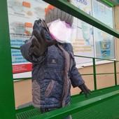 ❣️Классный демисезонный комбинезон и курточка с подстежкой на овчине 104-110-116 УП скидка ❣️
