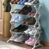 Стеллаж, полка для Обуви Shoe Rack 5 layer на 15 пар