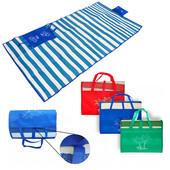 Складной коврик -сумка для пикника, отдыха