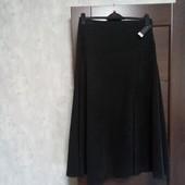 Фирменная новая красивая юбка под замш р.12-14