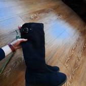 Гарненькі, замшеві, мягесенькі чобітки є утеплена ❤️ Graceland, 39
