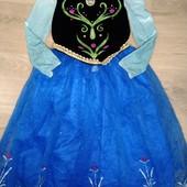 Платье принцессы Анны 7-8лет замеры на фото