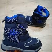 Зимние Термо ботинки для мальчика.На молнии.Качество и модель супер!