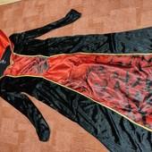Велюровое платье Вампиресса Л