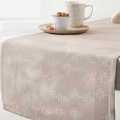 ☘ Скатертина-доріжка з шикарним тканим візерунком від Tchibo (Німеччина), 40 * 180 см