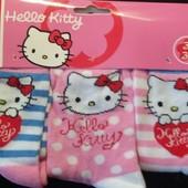 Hello Kitty_Набор носков(3пары)_(31/34р)_Gпр(159-21-1446_0,09)
