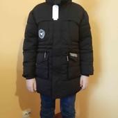 Курточка на подростка/сезон - зима рост 140