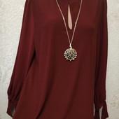 Красивая нарядная фактурная стрейчевая блуза туника Акция читайте