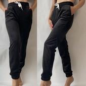 Теплые велюровые штаны на меху! размер 48,50